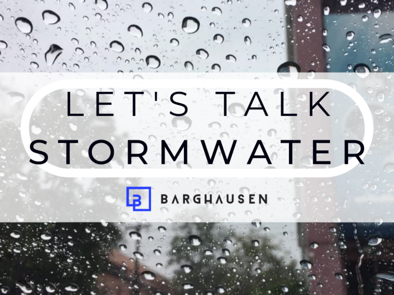 Image for post Let's Talk Stormwater